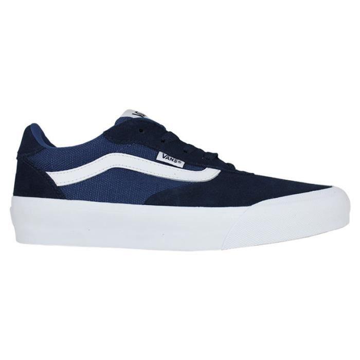 VANS PALOMAR SUEDE CANVAS DRESS BLUES Bleu - Cdiscount Chaussures