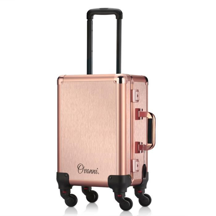 Mallette Valise De Maquillage Ovonni Lumineuse ED2H9I