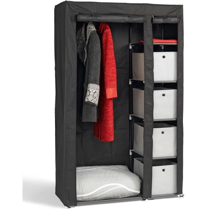 armoire pas cher tissu. Black Bedroom Furniture Sets. Home Design Ideas