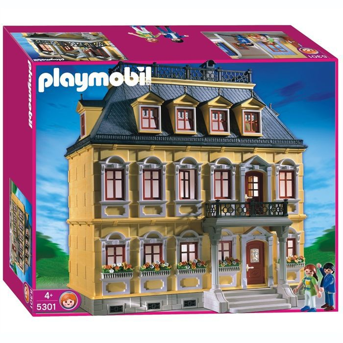 Maison traditionnelle playmobil achat vente univers for Photos maison playmobil
