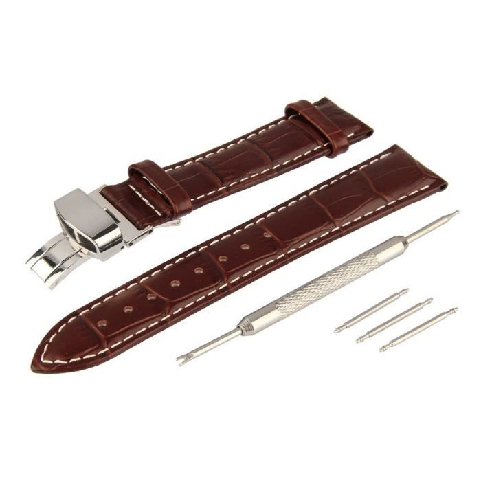 bracelet cuir 19mm