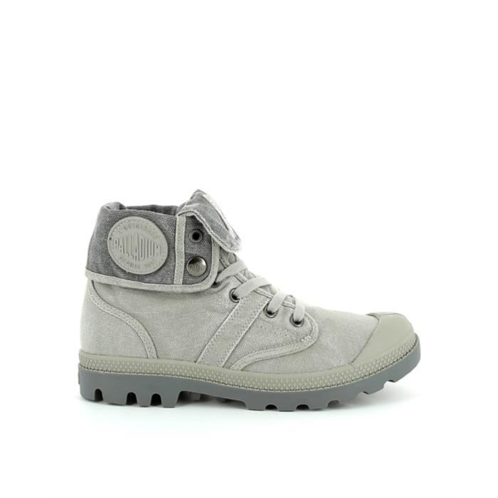 Baskets BAGGY CVS PALLADIUM Grey-Medium Grey