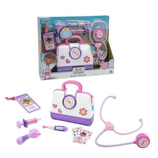 Doc McStuffins Médecin Sac Playset Médecin Jeu de rôle Petite Fille Cadeau de Noël infirmière