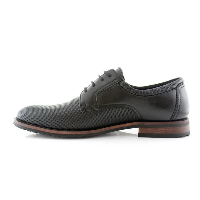 Ferro Aldo Mens Oxfords Modern Classic Derby Captoe Robe Chaussures PLM2D Taille-44 1-2 mS9Zy1Er