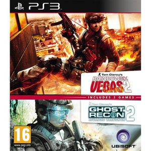 JEU PS3 RAINBOW 6 VEGAS 2 + GHOST RECON AW 2 / PS3