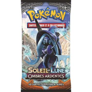 CARTE A COLLECTIONNER Booster Display Pokémon SL03 Lune & Soleil