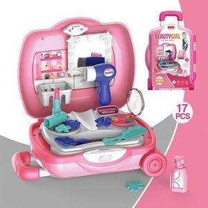 PELLE À CENDRE 17PCS Maquillage Fille Enfants 2-4 Ans Jouets Kits