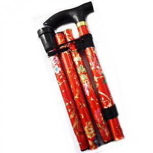 BÂTON DE MARCHE Version Rouge - Bâtons De Marche Pliables Légers P
