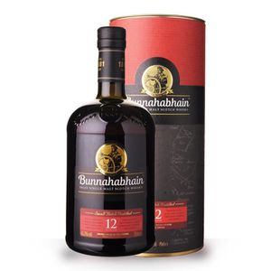 WHISKY BOURBON SCOTCH Bunnahabhain 12 ans Small Batch Distilled 70cl - C