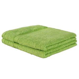 SERVIETTES DE BAIN Lot de 2 serviettes de toilette bain 100 x 50 cm 1