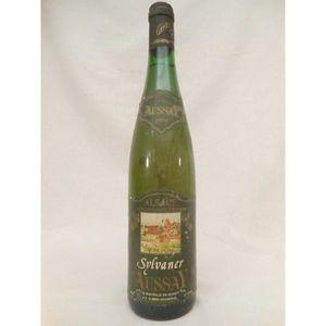 VIN BLANC sylvaner aussay (étiquette abîmée) blanc 1991 - al