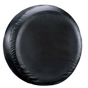 Housse de roue de secours noire pour auto voiture 4x4 caravane camping car utilitaire pour taille 265//60R18