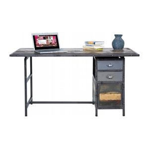 bureau style industriel achat vente bureau style. Black Bedroom Furniture Sets. Home Design Ideas