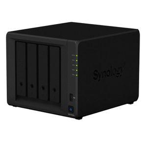 SERVEUR STOCKAGE - NAS  Synology DS418play 4 Bay Bureau Boîtier NAS