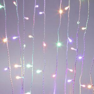 pour extérieur /& intérieur//Blanc Chaud #25 20m LED guirlande électrique blanc chaud 200 LED