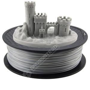 FIL POUR IMPRIMANTE 3D  Filament 3D PLA Imprimante 3D FDM 1.75mm 1 kg Gri