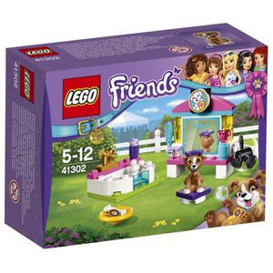 assemblage construction lego friends 41302 le toilettage des chiots