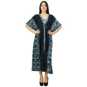 ROBE Bimba Designer Collection Pannel Caftan longue rob