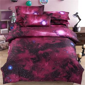 HOUSSE DE COUETTE SEULE Ciel Galaxie Cosmos nuit modèle Reine Taille Couet