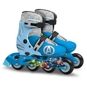PATIN - QUAD AVENGERS Rollers Ajustables - Taille 30-33 - Marve