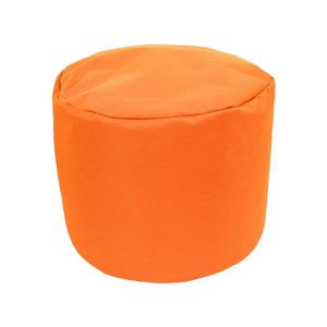 pouf orange achat vente pouf orange pas cher cdiscount. Black Bedroom Furniture Sets. Home Design Ideas