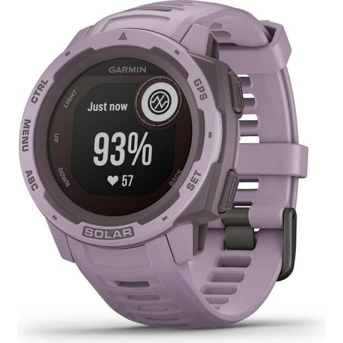 GARMIN Instinct® Solar Montre connectée, Orchidée