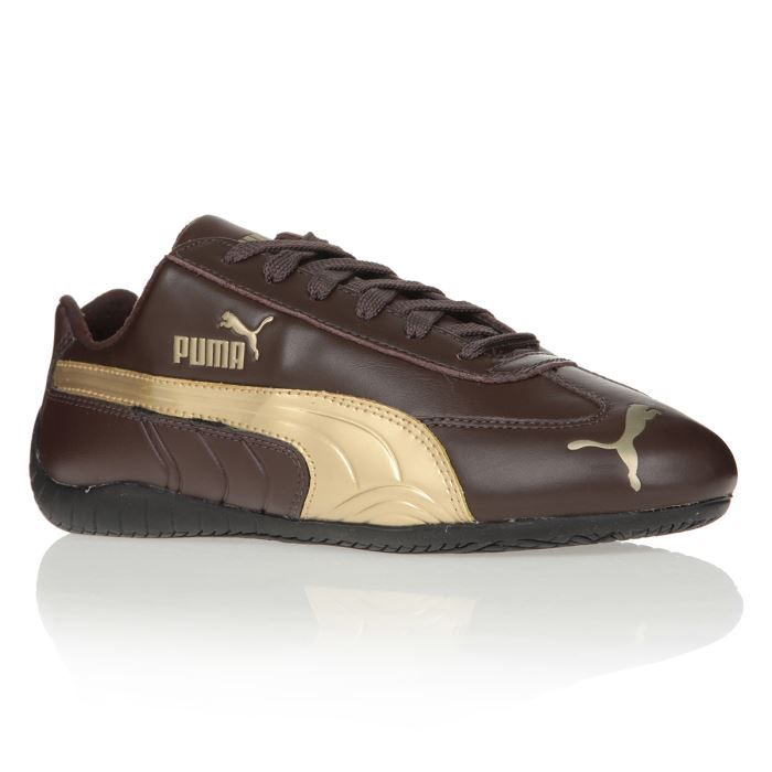 basket puma homme marron