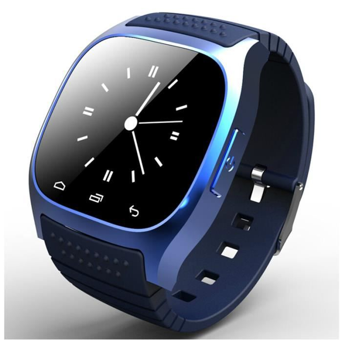 Smartwatch Sport - Compatible iOS & Android