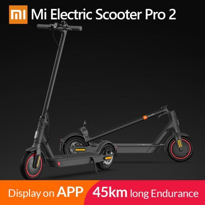 Xiaomi – Trotinette électrique Mi Pro 2 Mijia, scooter intelligent, skateboard mini léger, hoverboard, patinette, adulte