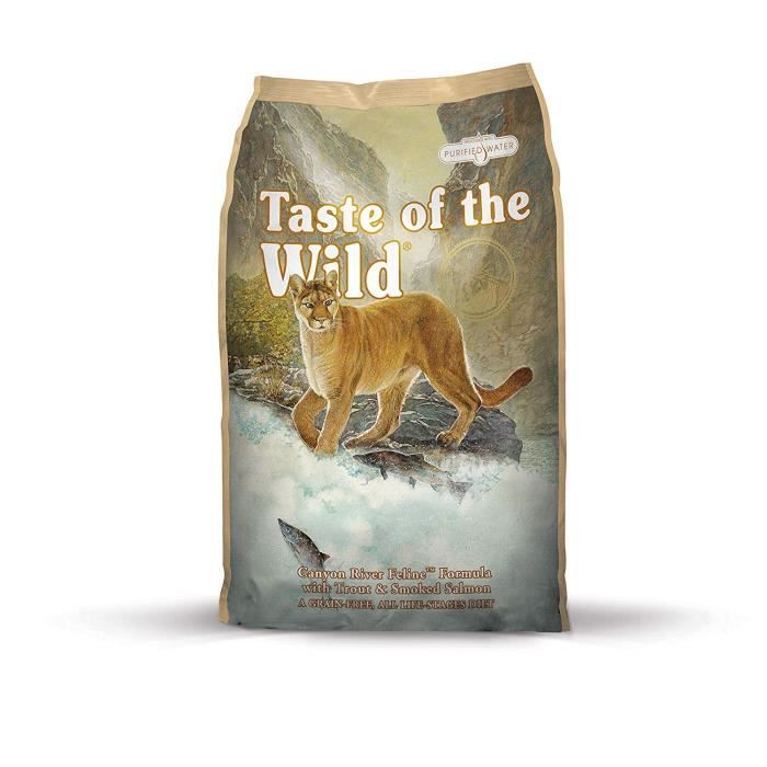 Taste of The Wild goût du Chat Sauvage Nourriture