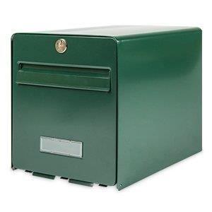 BURG WACHTER Boîte aux lettres Favor en acier galvanisé - 2 portes - Vert