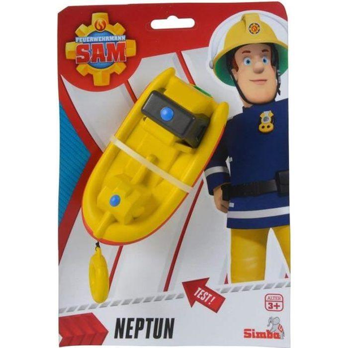 Simba Toys 109252135 Le pompier Sam Bateau à remonter Neptune