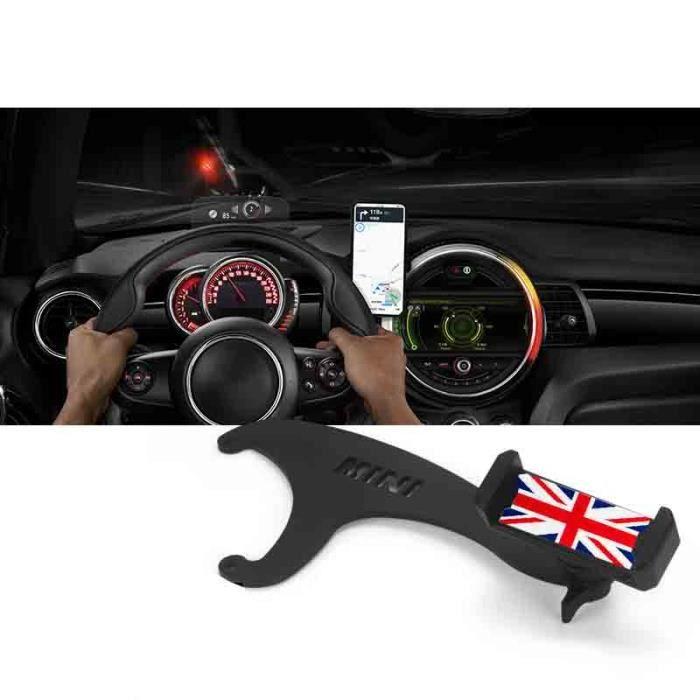 Support rotatif pour Smartphone - Pour MINI Cooper R60 R61 R55 R56 F54 F55 F56 F57 F60 - Modèle: BLACK Gray Jack F54 - ANQCCTB05173