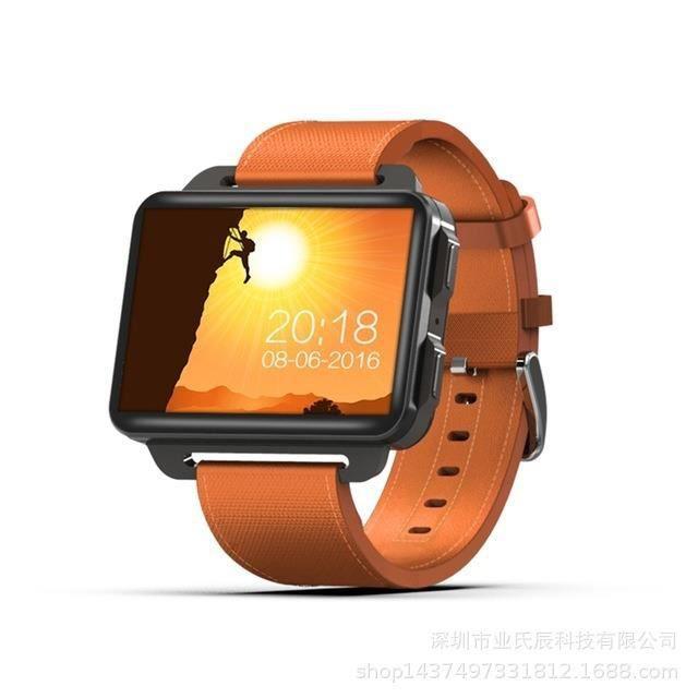 Orange Nouvelle montre intelligente DM99 Android 5.1 OS 3G réseau 1 Go + 16 Go intégré GPS WIFI BT4.0 1.3MP caméra 2,2 pouces écran