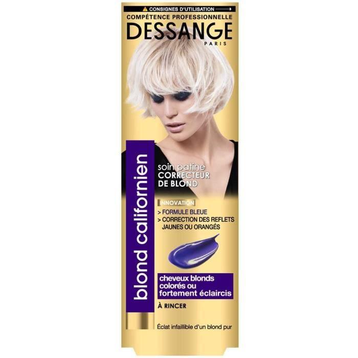 SHAMPOING Dessange Soin Patine Correcteur de Blond, 1x 125 ml1121