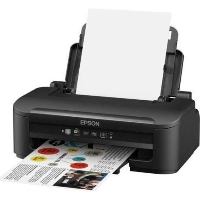 Epson Imprimante Workforce Wf 2010W jet d'encre 4 couleurs Ethernet + Wi Fi Interface Usb2.0
