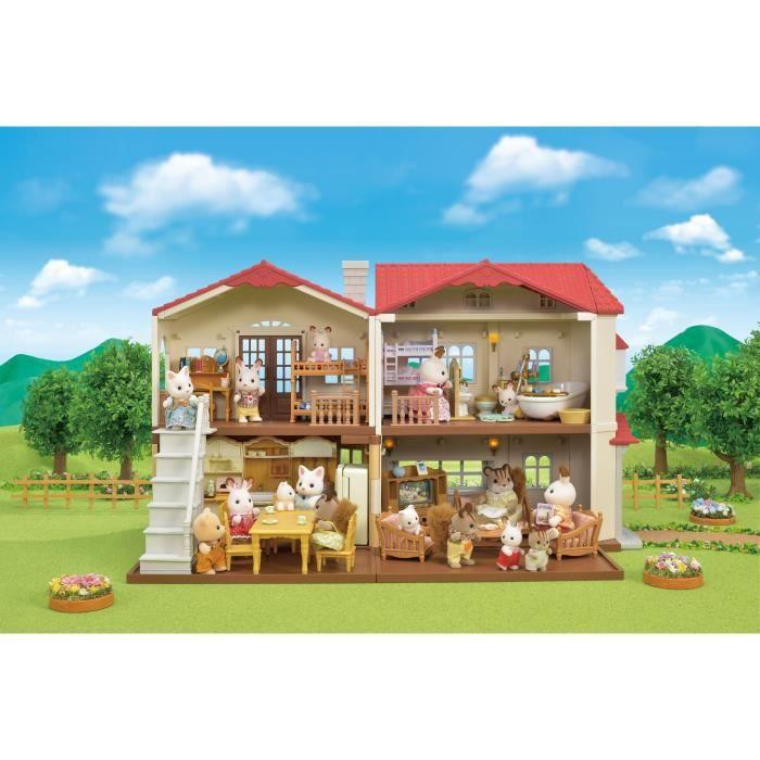 SYLVANIAN FAMILIES - 5302 - La grande maison de village - Le village
