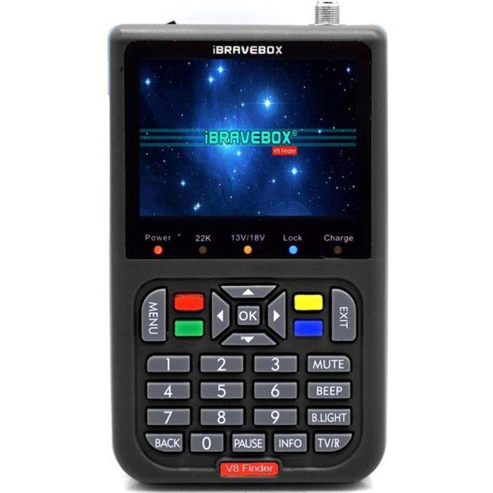 V8 Finder Digital Satellite Finder avec écran numérique LCD 3,5 pouces-82
