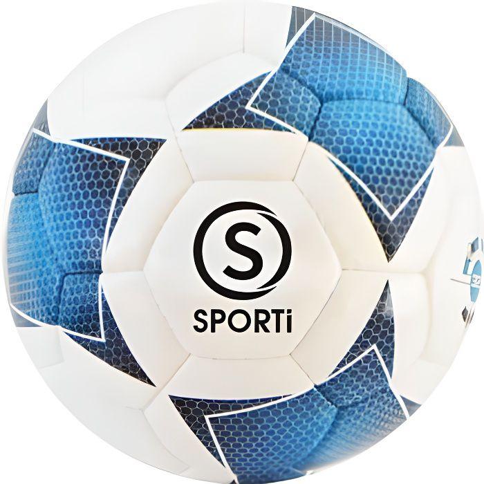 Ballon de Football Sporti France Sporti United - blanc/bleu - Taille 3