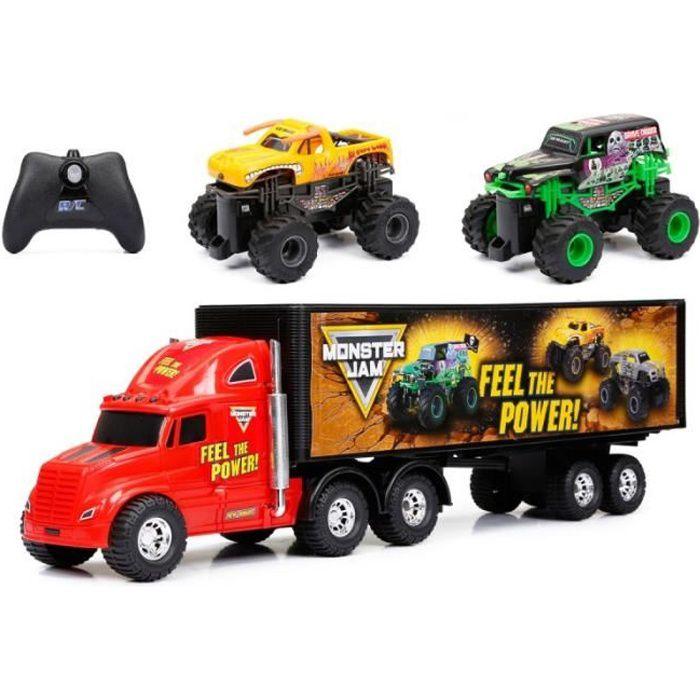 RC Monster Truck Jam en Septembre Camion porteur - 124496