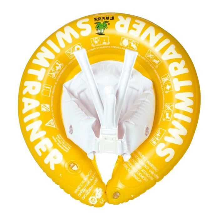 Freds Swim Academy Bouée bébé Swimtrainer Jaune - 4 à 8 ans