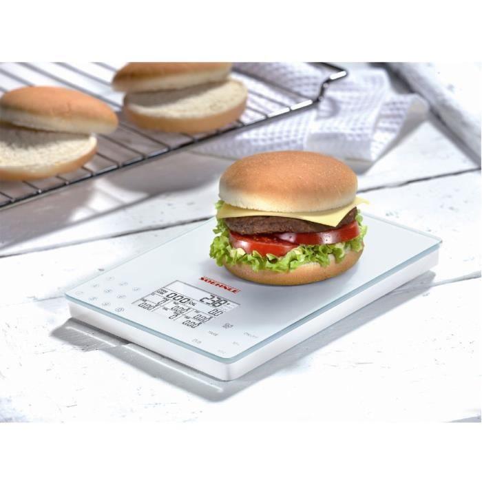 Soehnle Balance de cuisine Food Control Easy 5 kg Blanc 66130