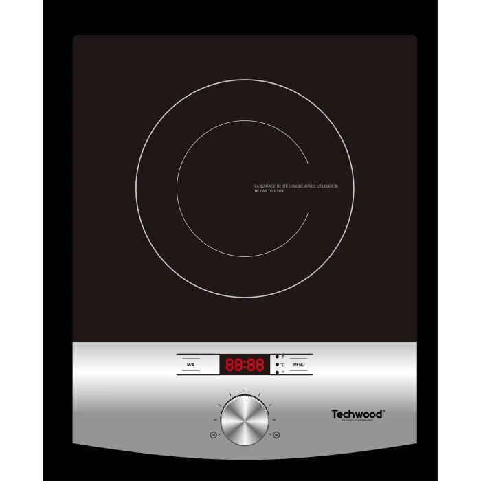 TECHWOOD TPID-120 - Plaque de cuisson à induction - 2000 W - LED