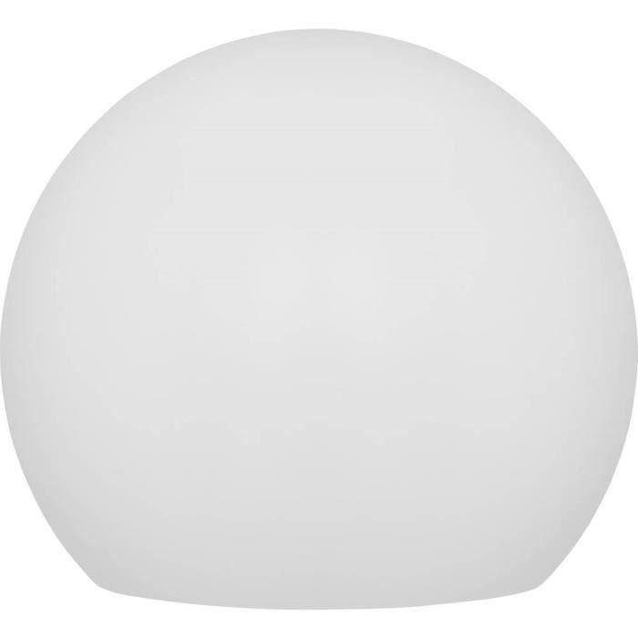 Lampe de jardin solaire boule (Ø) 30 cm LED 9.6 W RVBB Telefunken Ball Connectivity T90230 blanc