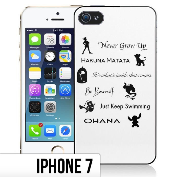 coque iphone 7 citation disney