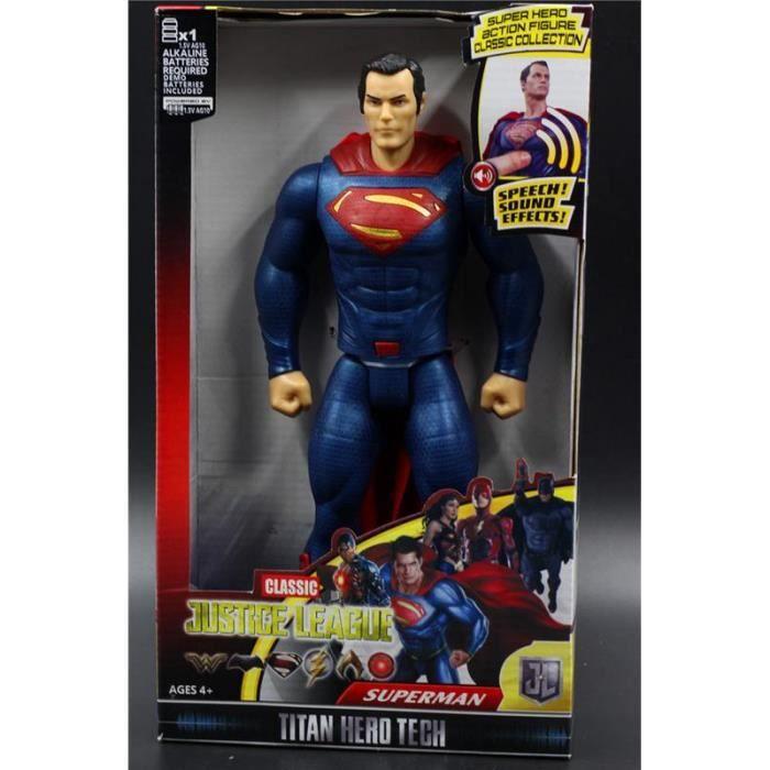 """DC justice league 6/"""" Superman figurine personnage totalement articulées Comic Figure"""