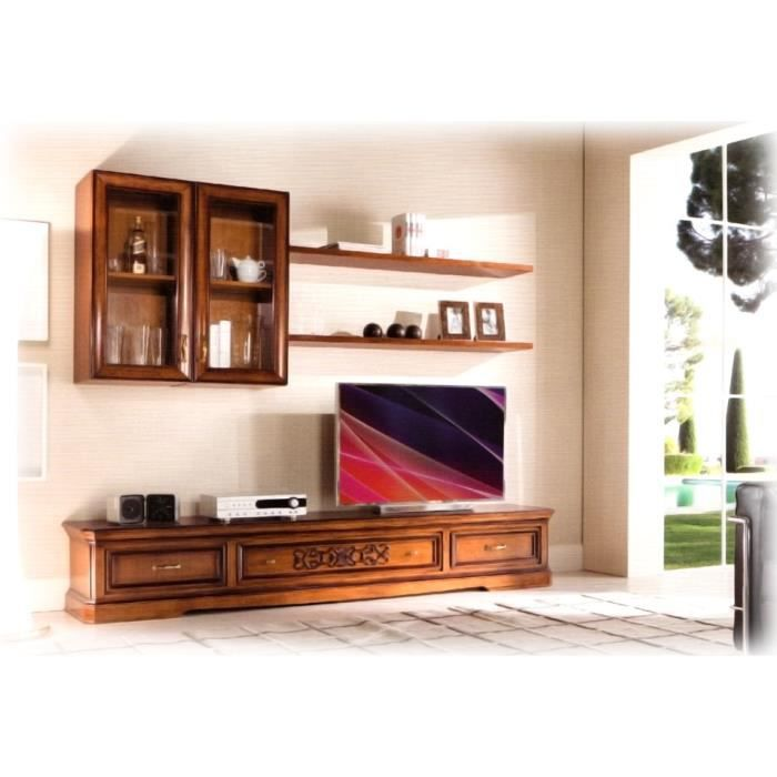 meuble tv mural modulaire achat vente meuble tv meuble tv mural modulaire soldes cdiscount. Black Bedroom Furniture Sets. Home Design Ideas
