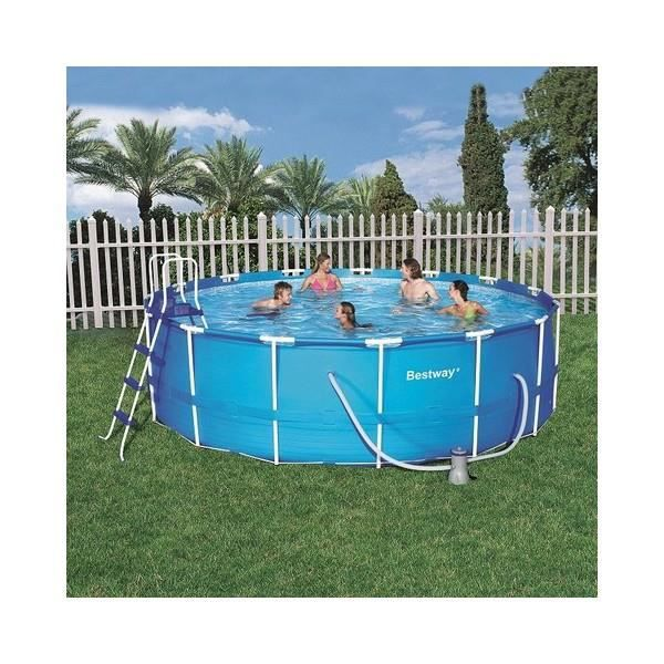 Piscine tubulaire bestway achat vente kit for Piscine tubulaire bestway