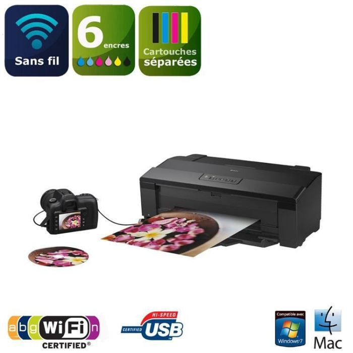 IMPRIMANTE Imprimante Epson photo A3 WiFi Stylus Photo 1500W