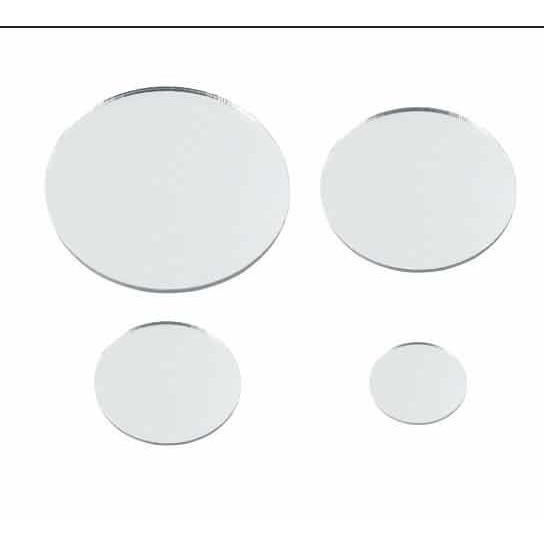 Ctop set 8 miroirs ronds 20 30 40 50 mm achat vente sequin strass ctop 8 miroirs 20 for Petits miroirs ronds